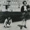 Foto Anne Frank en Hannah Goslar