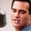 Joaquin Phoenix met sigaret