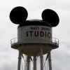 Disney logo op watertank