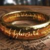 De ring uit 'The Lord of the Rings'.