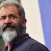 Mel Gibson tijdens prijsuitreiking