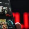 Netflix op laptopscherm