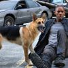 Will Smith en hond in I Am Legend