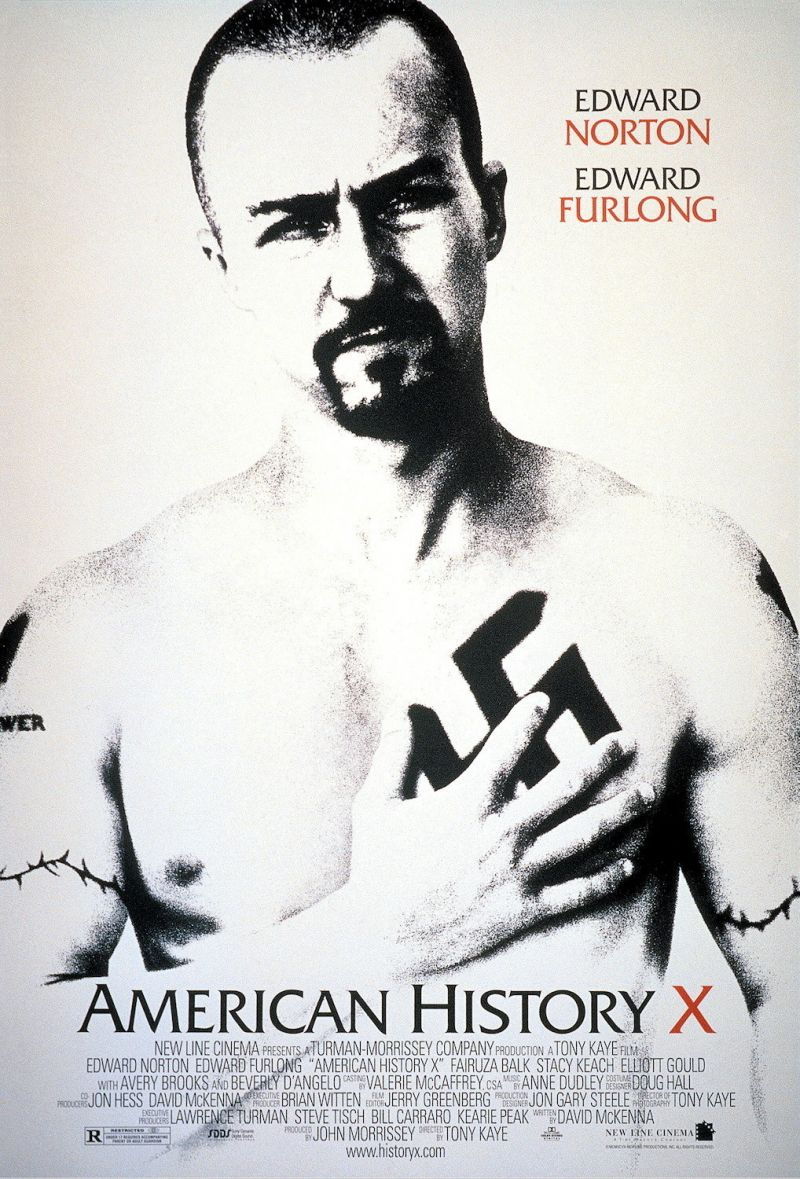 reflection on american history x Free essay: american history x will racism ever come to an end or will its path  go on infinitely for the most part, the majority of people respect those who.