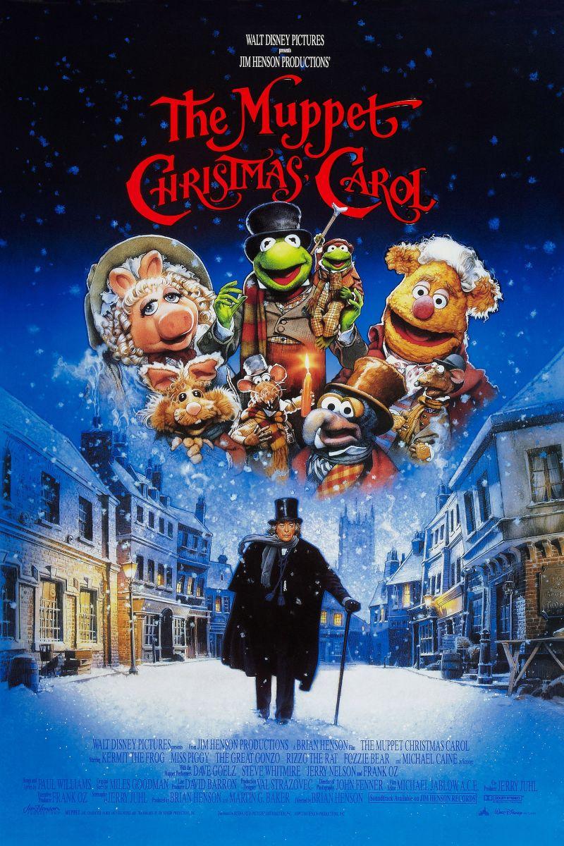 Afbeeldingsresultaat voor a christmas carol movie poster muppets