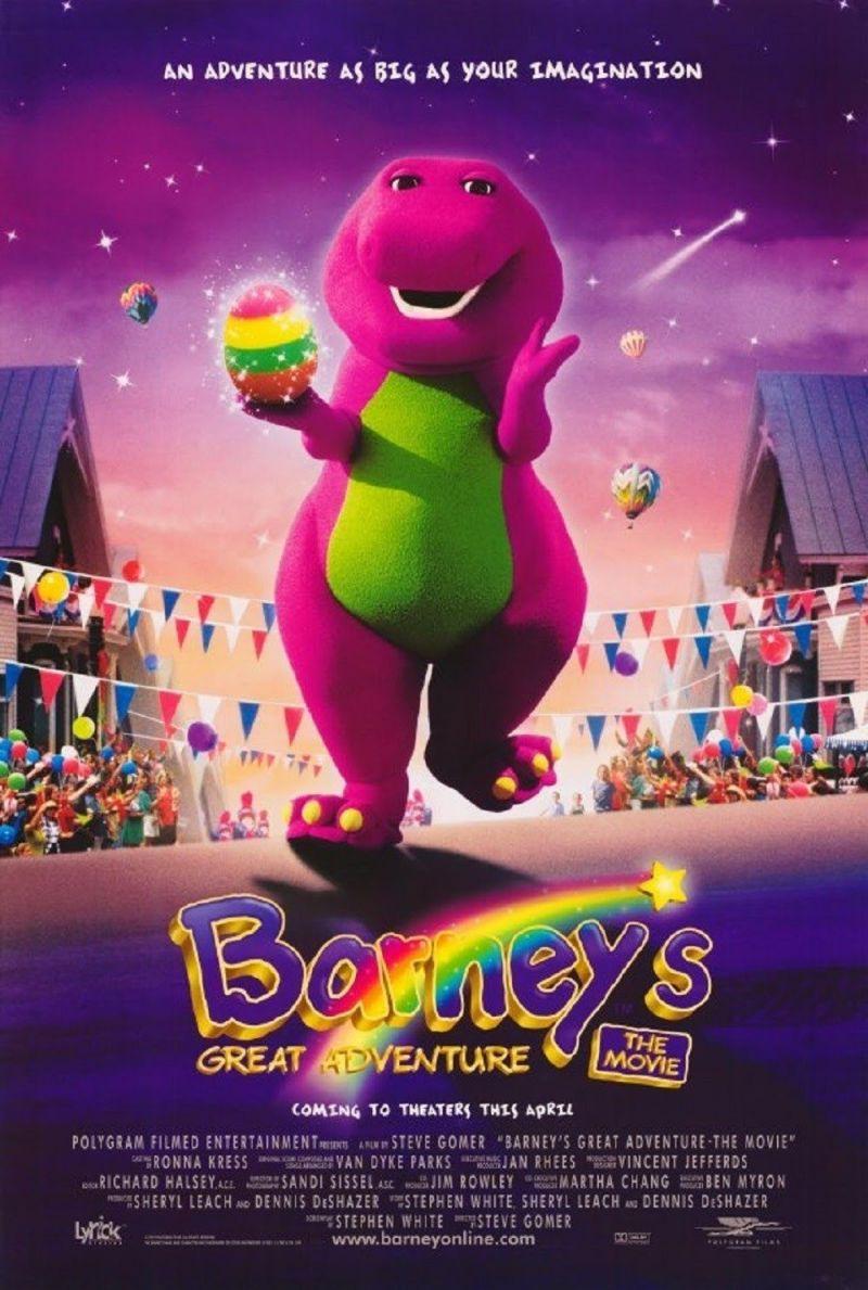Barney S Great Adventure Film 1998 Moviemeter Nl
