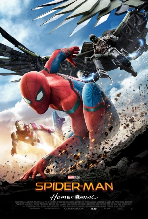 Spider-Man Homecoming Movie Poster
