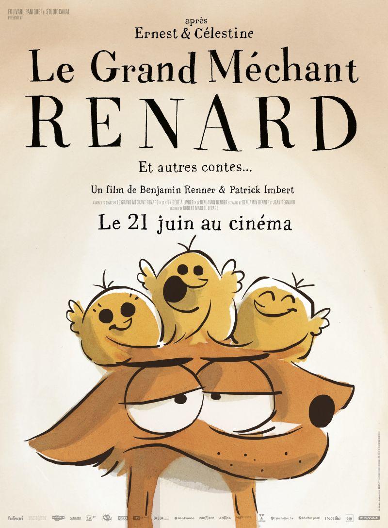 Le Grand Méchant Renard et Autres Contes... (2017)