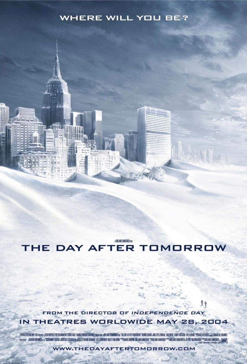 Tomorrow With A Smile Knock Off: The Day After Tomorrow (2004)