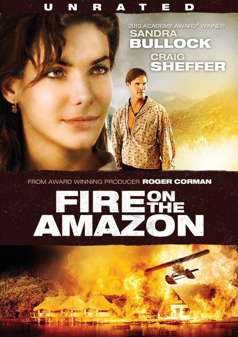 Sandra bullock fire on the amazon uncut porn gallery