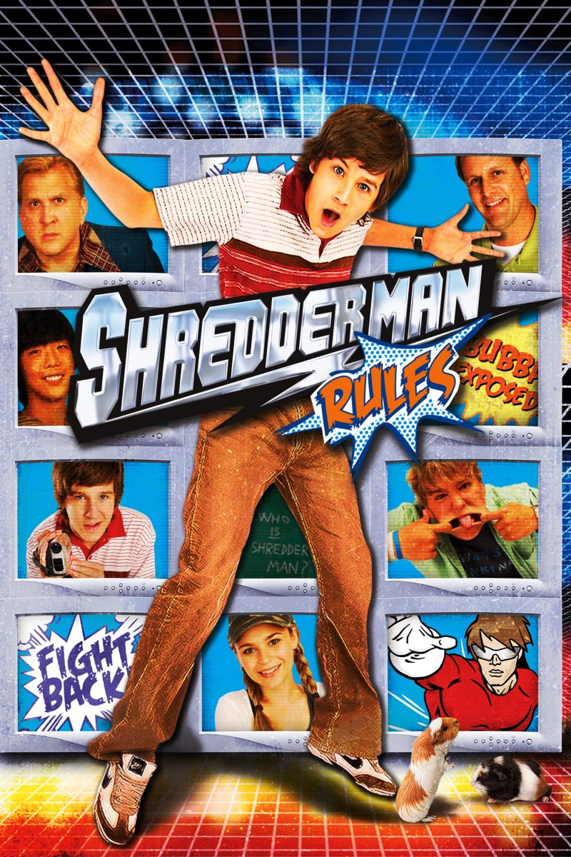 Shredderman rules the movie