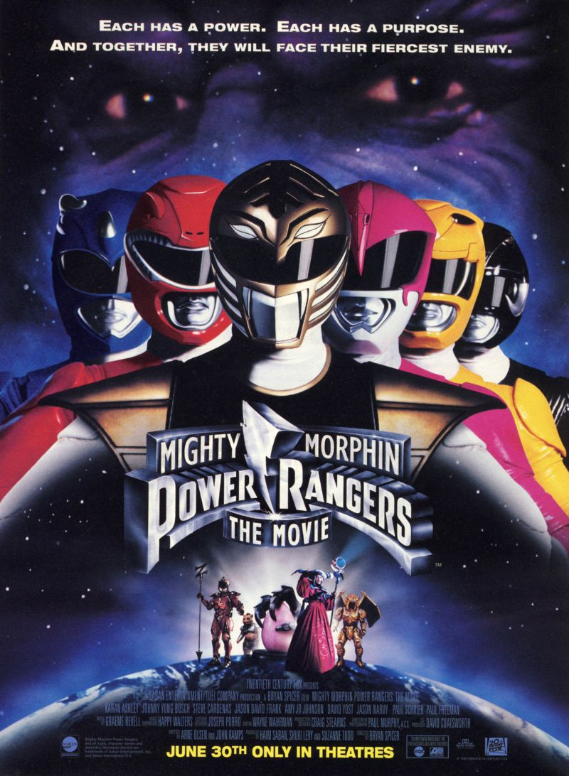 mighty morphin power rangers the movie 1995 moviemeternl