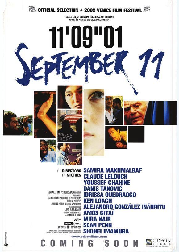 11'09''01 - September 11 (Film, 2002) - MovieMeter.nl