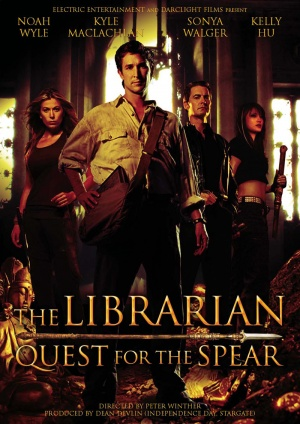 the librarian quest for the spear 2004 moviemeternl