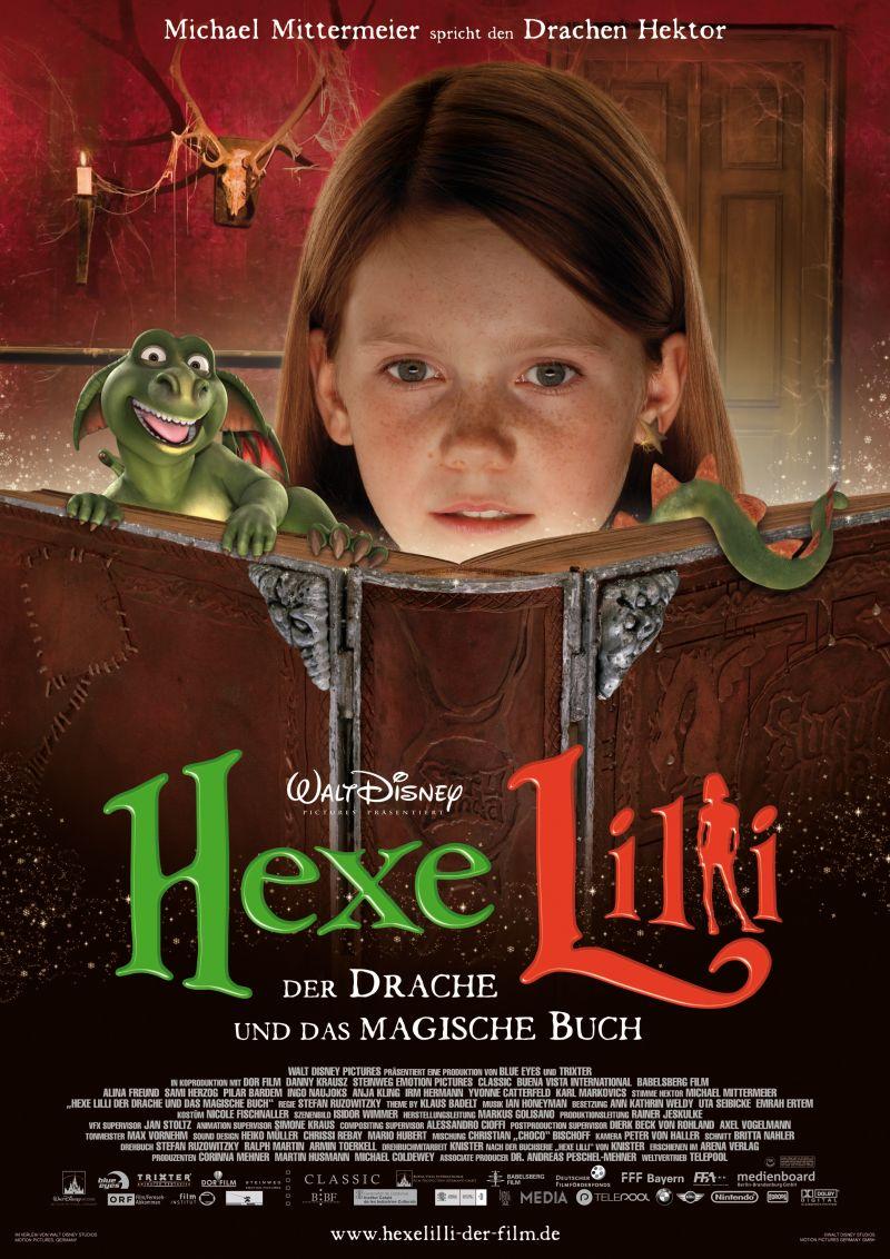 Heksje Lilly Draak.Hexe Lilli Der Drache Und Das Magische Buch 2009