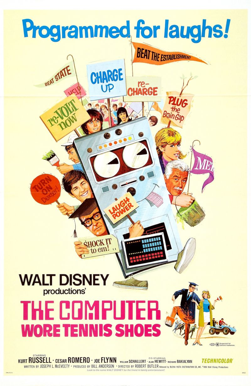 The Computer Wore Tennis Shoes Film Series
