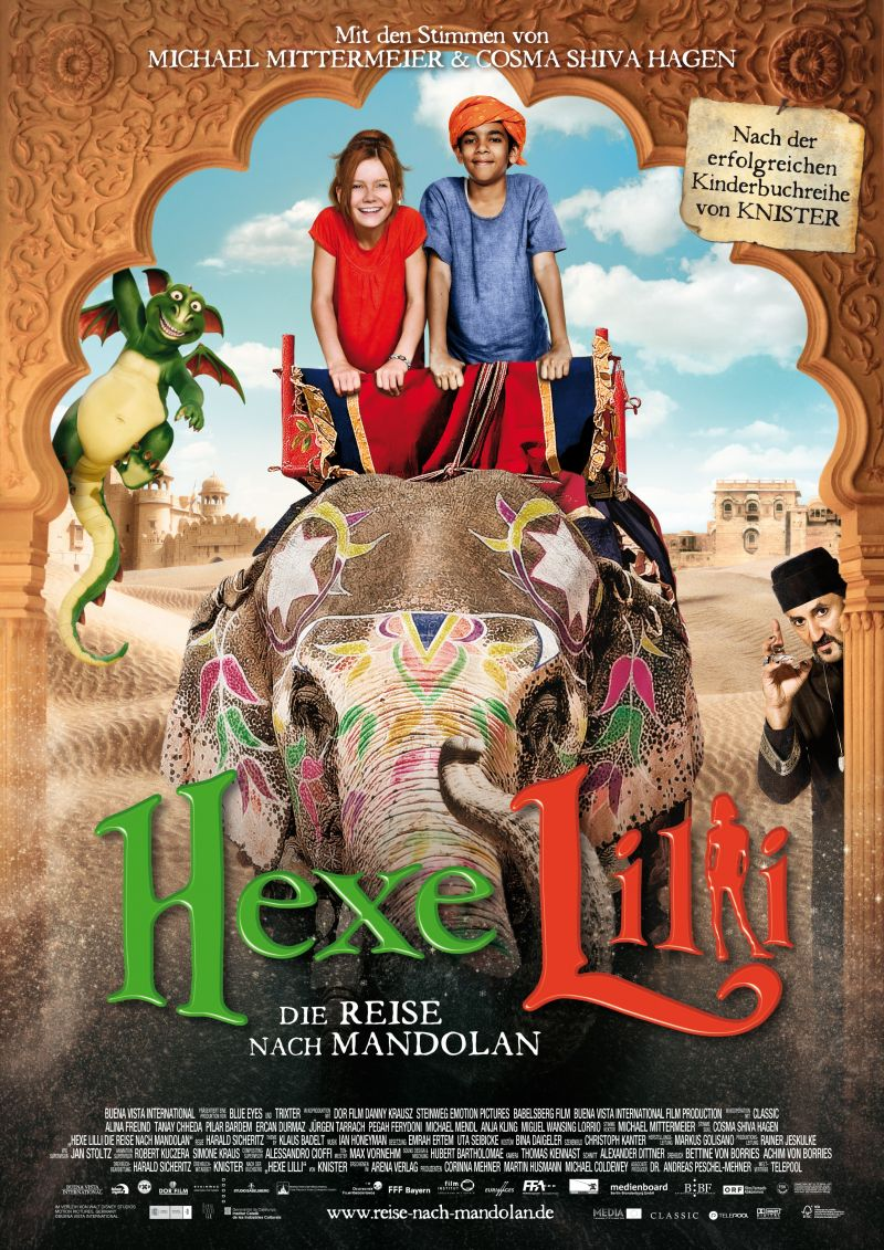 Toverspreuken Van Heksje Lilly.Hexe Lilli Die Reise Nach Mandolan 2011 Moviemeter Nl