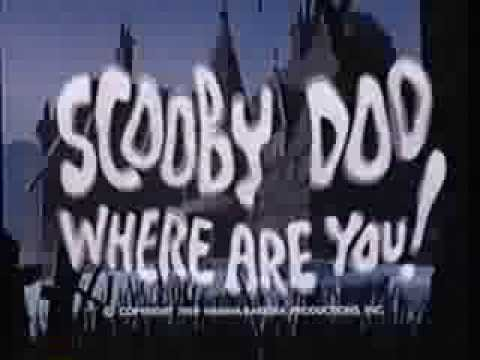Scooby-Doo, Where Are You! - Intro (1970) Theme (VHS Capture)