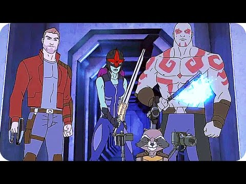 Marvel's GUARDIANS OF THE GALAXY Season 2 TRAILER (2017) Disney XD Animated Series