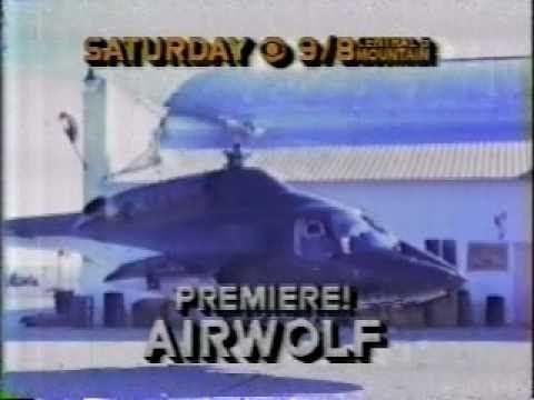 """AIRWOLF"": 'Daddy's Gone a Hunt'n' (#1.01) - Original CBS Promo"