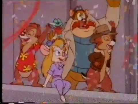 Chip 'N Dale Rescue Rangers VHS Trailer